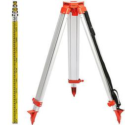 1.65M Aluminum Tripod 5M Staff Kit For Laser Level Outdoor T