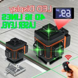 16/12 Lines Green Laser Level Auto Self-Leveling 360° Rotar