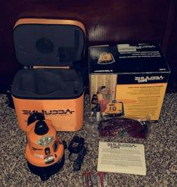 Johnson AccuLine Pro 40-6500 Manual-Leveling Rotary Laser Le