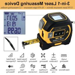 ALL-IN-ONE Laser Tape Measure Laser Level Tape Measuring up