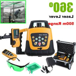 Automatic Self-leveling Rotary Laser Level Green beam 500m r