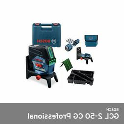 Bosch GCL 2-50 CG Self Level 20m 1V+1H ±0.3mm ±4˚ Green 1