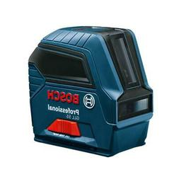 Bosch GCL2-160 Self-Leveling Cross-Line Laser with Plumb Poi