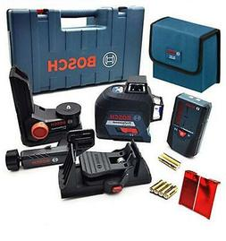 Bosch GLL 3-80 & LR6 3 Plane 360 Degree Laser Leveling with