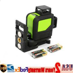 Green 8 Lines Rotary Laser 3D Laser Level Outdoor 360° Rota