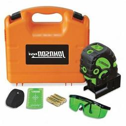 JOHNSON LEVEL & TOOL 40-6688 Line and Dot Laser,Interior and