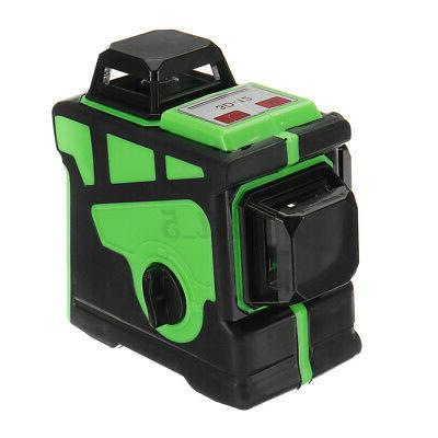 16/12 Lines Green Laser Level Rotary Measure US