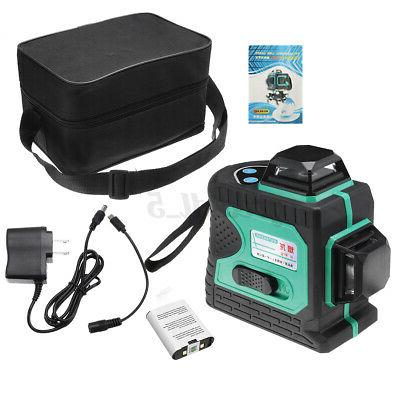 16/12 Lines Laser Level Self-Leveling Rotary Measure