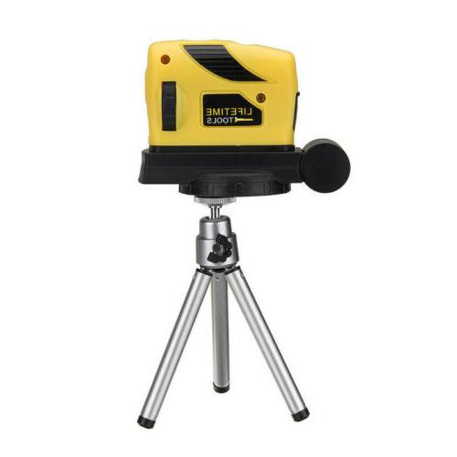 3D Laser Level Leveling Point/Line/Cross Horizontal Vertical 360 ° Rotary