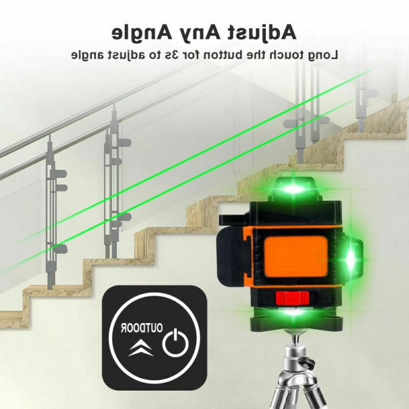4D 360° 16 Green Level Self Rotary Measure