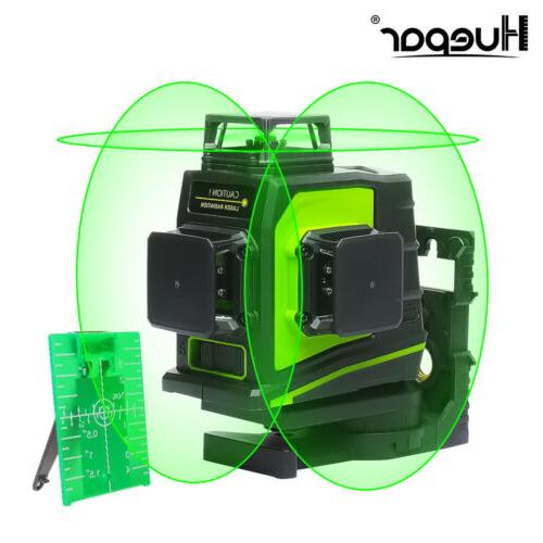 Rotary laser level green 12 Lines 3D Cross Line Laser Self L