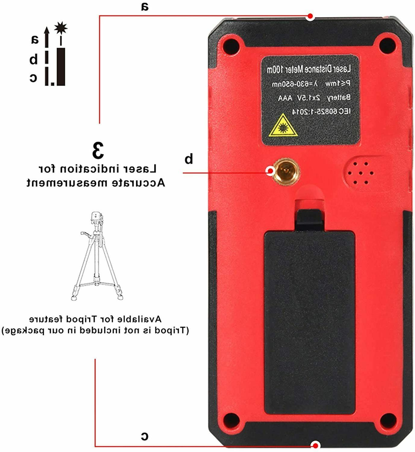 Laser Distance Meter with Bubble