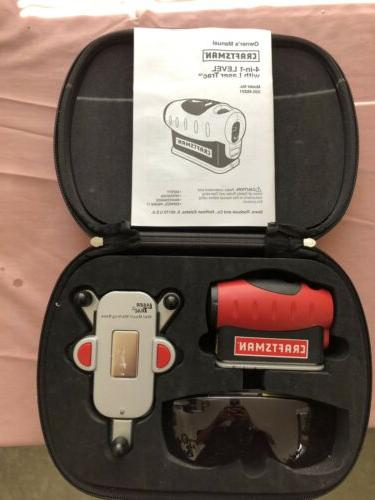 new 4 in 1 laser trac level
