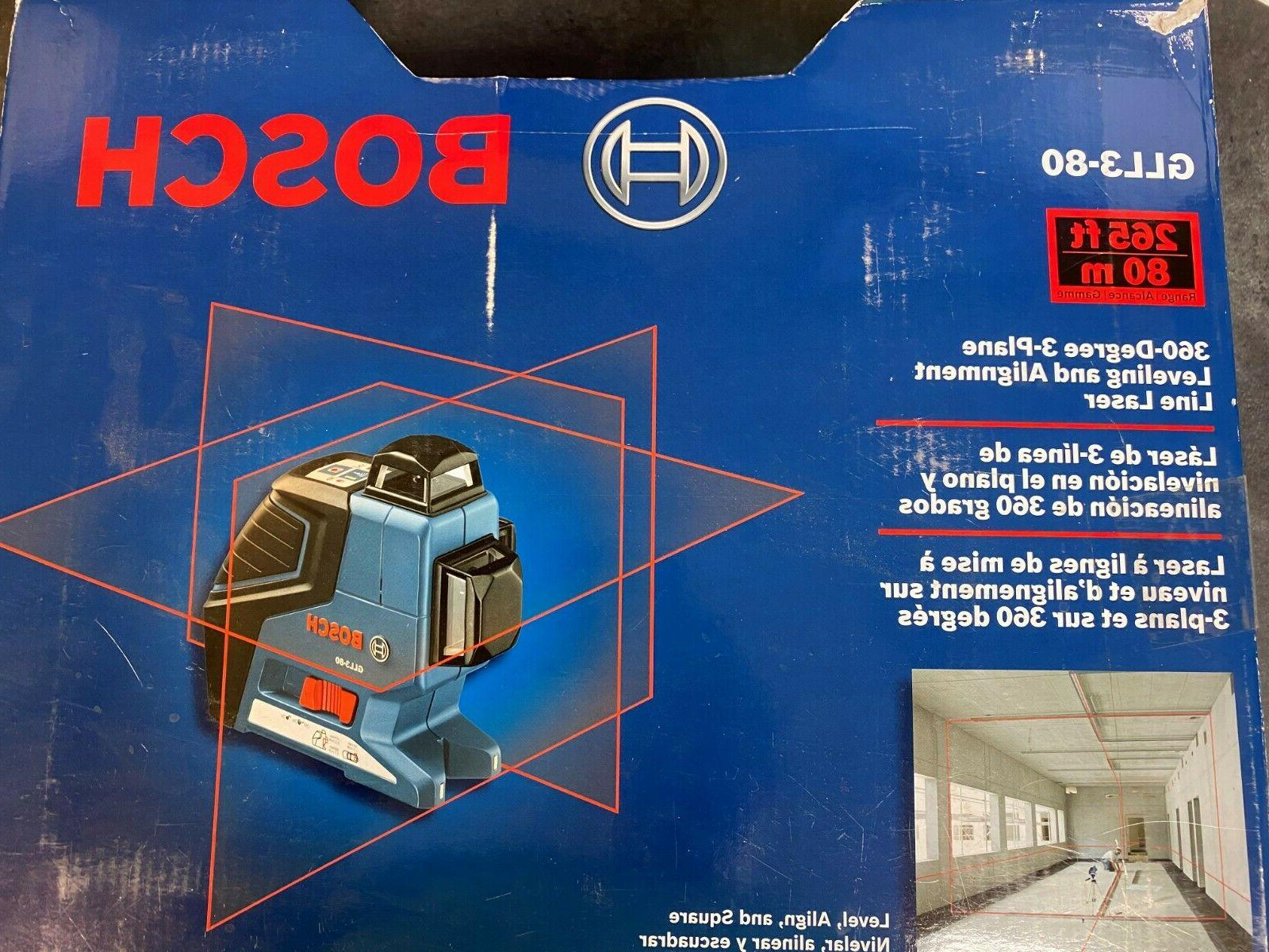 New 360-Degree 3-Plane Leveling and Line