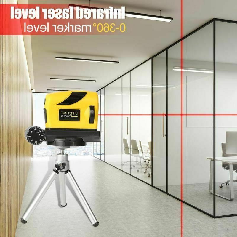 Red Laser Point Line Cross Meter Leveling