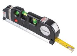 Qooltek Multipurpose Laser Level measure Line Measure Tape R