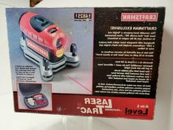 Craftsman Laser TracTM Level with Carrying Case and Laser En