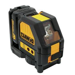 DEWALT 12-Volt MAX Lithium-Ion Red Cross Line Laser Level Se