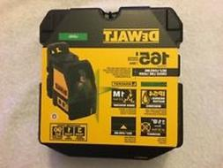 NEW DEWALT DW088CG SELF LEVELING CROSS LINE LASER LEVEL 165'