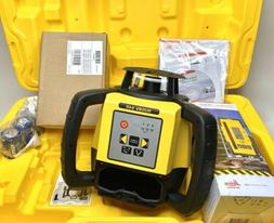 New Leica Rugby 640 Dual Manual Slope Laser Level with Rod E