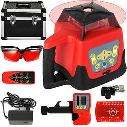 Ridgeyard Self-Leveling 360 Rotary Rotating Red Laser Level
