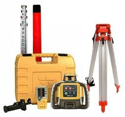 Topcon RL-H5A Construction Rotary Laser Level W/ Grade Rod I