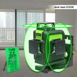 12 Lines 903CG Rotary Laser Level Green Cross Line Laser Sel