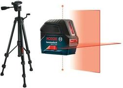Bosch Self Leveling Cross Line Laser 165 ft Free Compact Tri